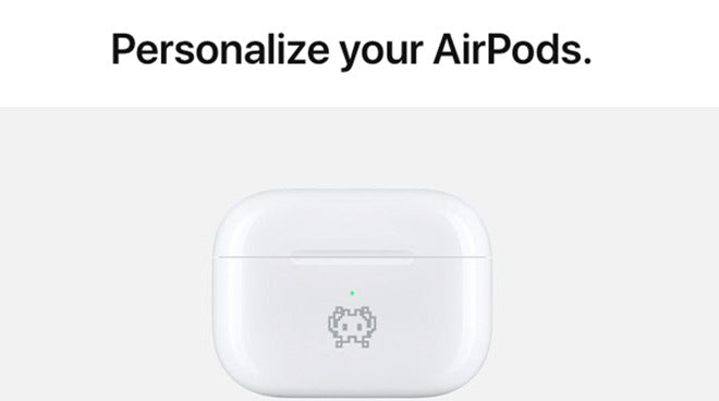 engrave your AirPods coque with emojis