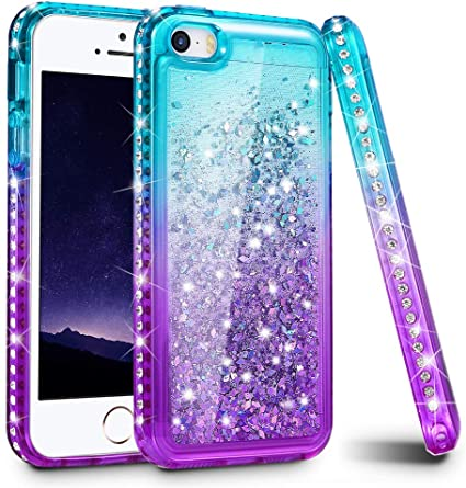 iPhone 5 5s SE 5C coque Soft Glitter