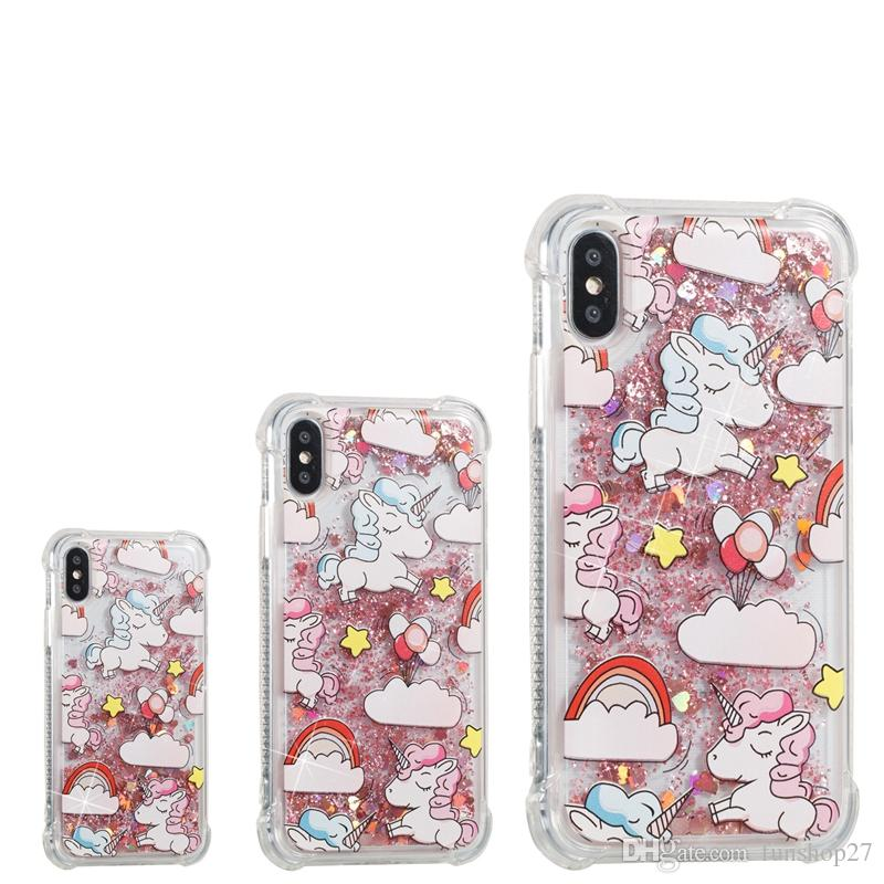 iPhone 8 Back coque Unicorn coques