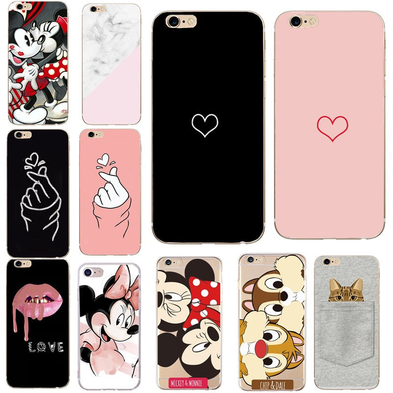 iphone 7 coque For iphone7 6 6S 5 5S
