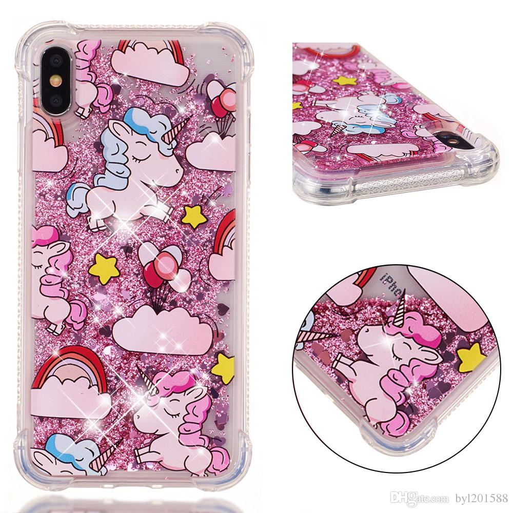 iphone 7 shockproof coque unicorn
