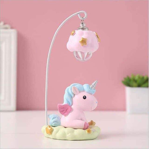 veilleuse licorne rechargeable, Veilleuse licorne<br> rose - frdujiaoshou1