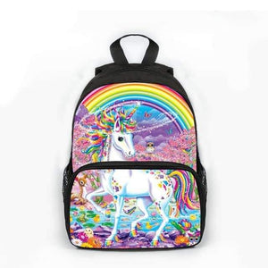 amazon sac à dos licorne, Cartable licorne <br> arc en ciel - frdujiaoshou1