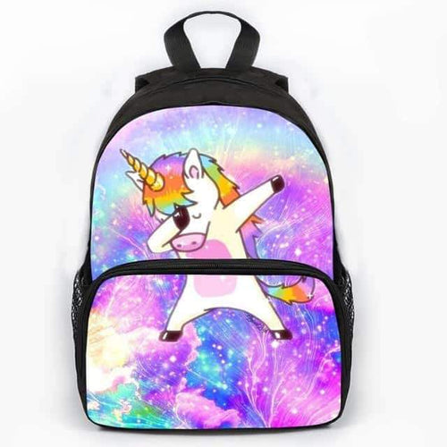 amazon sac à dos licorne, Cartable licorne <br> dab - frdujiaoshou1