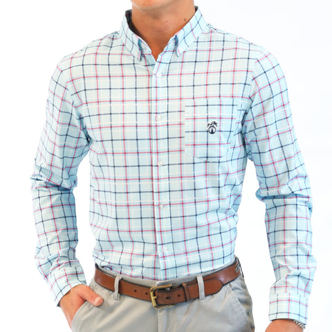 Performance Long Sleeve Button Down Shirts