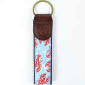 Leather Pattern Keychains