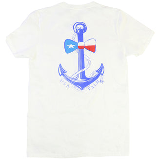 White · Anchor Bow Tie