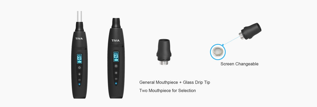 Anlerr Tiva Herb Vaporizer is an ultra-compact dry herb vaporizer