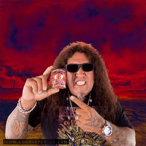 The Chief Chuck Billy autographed Collector's trading card
