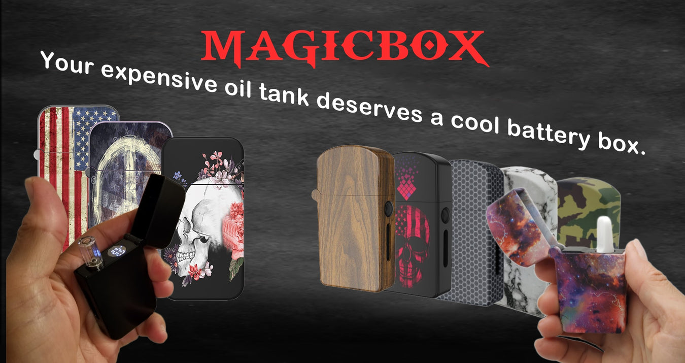 Magicbox oil vaporizer oil battery ZOLO-B oil battery box