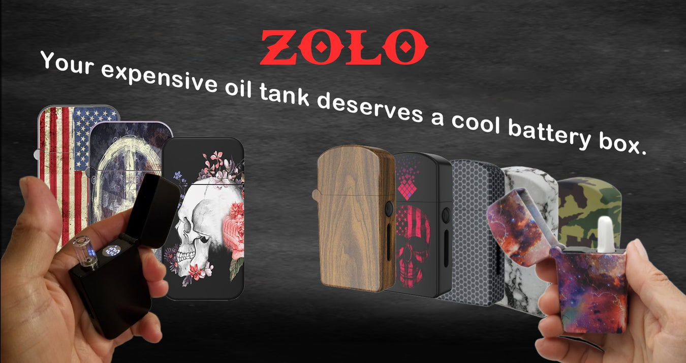 Magicbox oil vaporizer oil battery ZOLO-B oil battery box ZOLO-S oil battery box