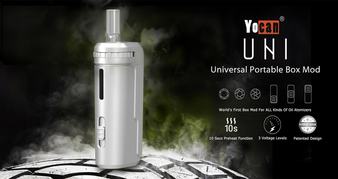 Yocan UNI oil vaporizer 510-thread battery