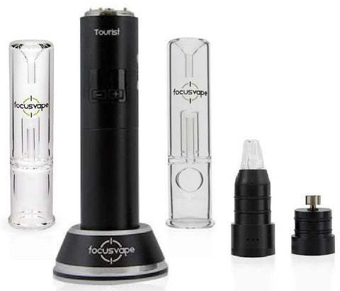 Focusvape Tourist 2-in-1 Herb Wax Concentrate Bubbler Kit