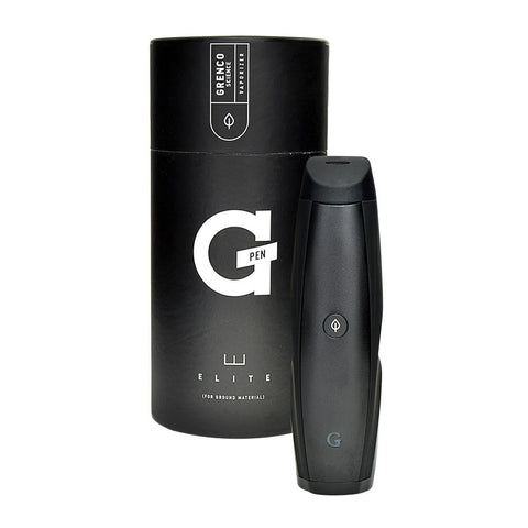 Grenco Science G Pen Elite Herb Vaporizer Pen G Pen Elite has the largest ceramic chamber on the market (0.75g), with a revolutionary 360 ceramic heating element