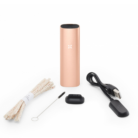 PAX 3 Herb Concentrates Vaporizer Basic Kit Rose Gold PAX 3 dry herb and concentrate vaporizer is a true dual-use vaporizer for aromatic blends and concentrates. Elevate your vapor experience to highest