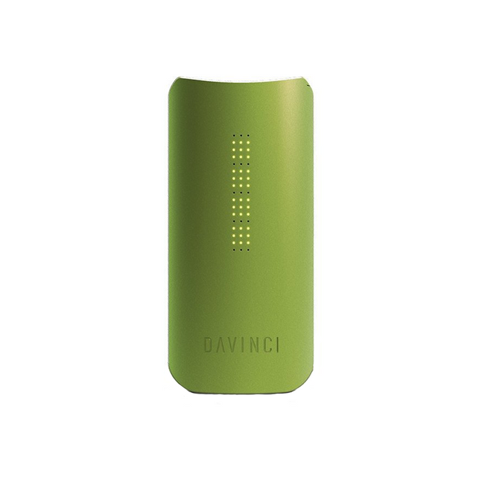 DaVinci IQ Herb Vaporizer Green unique design, ceramic air path, Smart Path technology and mobile app integration sets this vaporizer unit apart from the rest