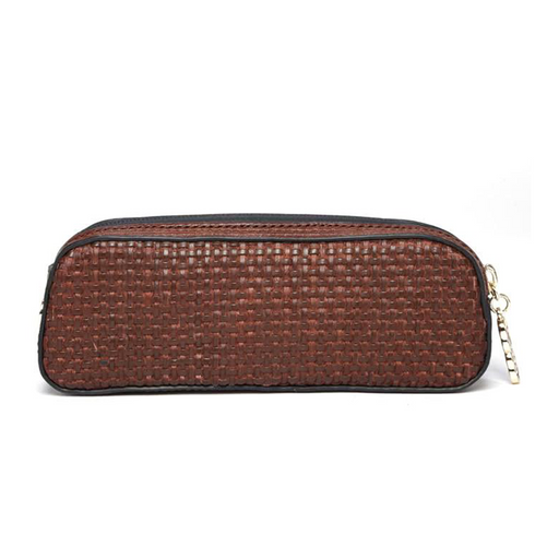 Erbanna Rae Brown Weave bags women ladies fun stuff smell-proof accessories cute