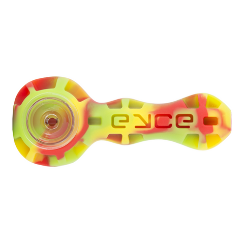Eyce Spoon Pipe Herb Flower Rasta Constructed with a hidden stash jar for your materials, the Spoon is perfect for on-the-go use