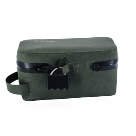 Odoloc smell-proof locking bag case green