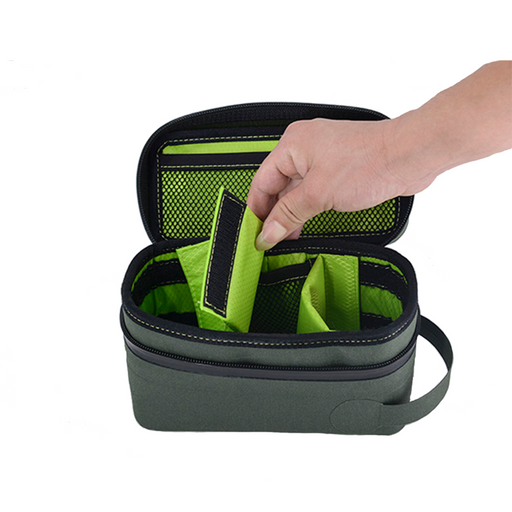 "Odoloc Smell-Proof ""Locking"" Carry Case smell-proof, weather-proof, child-proof handbag for people who crave for portable, odor-locked stash"