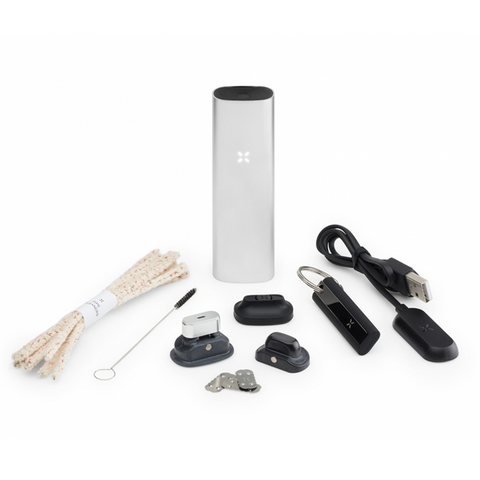 PAX 3 Herb Concentrates Vaporizer Complete Kit Silver