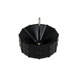 Phoenician Ashtray Made-in-USA internally-angled holding slots perfect for cigarettes, pre-rolls and cigars