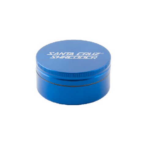 Santa Cruz Shredder 2-piece Grinder Blue