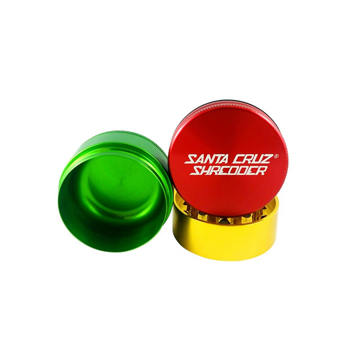 Santa Cruz Shredder 3-piece Grinder Rasta