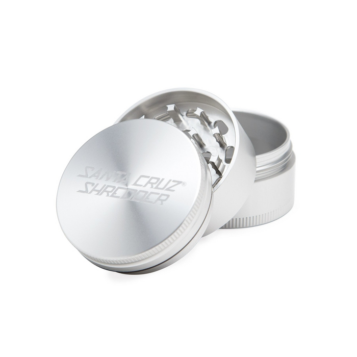 Santa Cruz Shredder 3-piece Grinder Silver