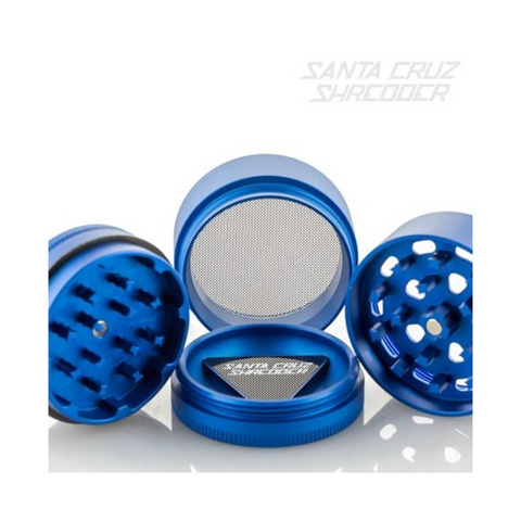 Santa Cruz Shredder 4-piece Grinder Blue