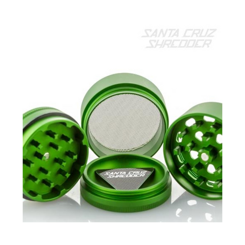 Santa Cruz Shredder 4-piece Grinder Green