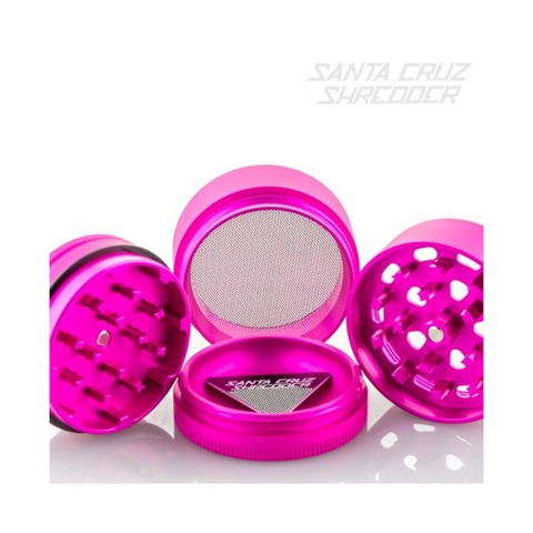 Santa Cruz Shredder 4-piece Grinder Pink