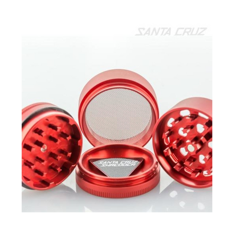 Santa Cruz Shredder 4-piece Grinder Red