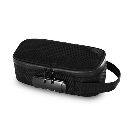 Skunk Sidekick smell-proof locking carry bag black