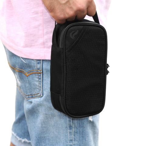 Skunk Sidekick smell-proof locking carry bag black shaving bag size