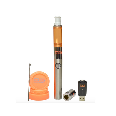 #ThisThingRips OG FOUR 2.0 Vaporizer, in an all-inclusive kit, utilizes Patent pending Lava-Quartz Technology and Quad Airflow system to deliver Rig-like hits!