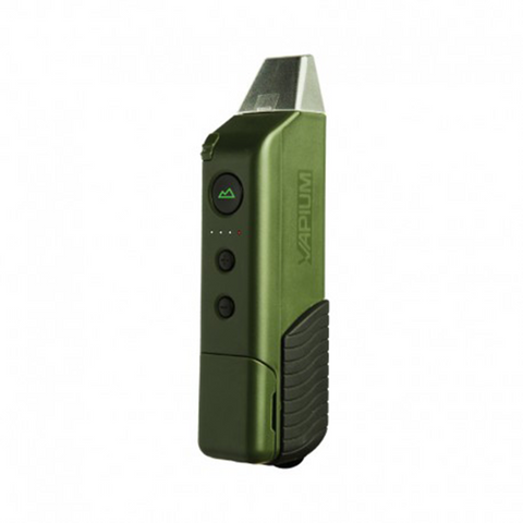 Vapium Summit Herb Vaporizer Green Summit by VAPIUM is a rugged portable dry herb vaporizer that is as powerful as it is easy to use.