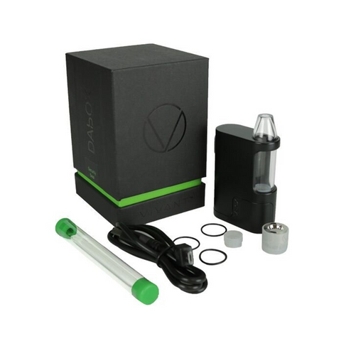 Vivant DAbOX Concentrates Portable Compact Vaporizer complete kit