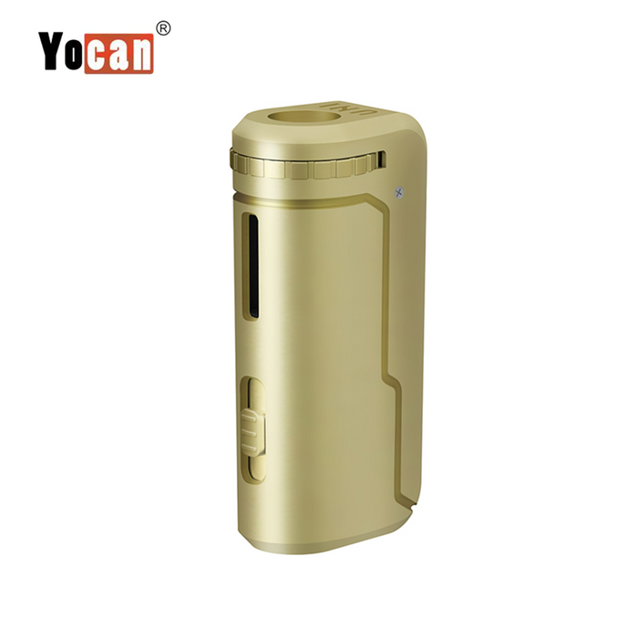 Yocan UNI Universal Portable Vaporizer Box Mod THC Oil Cartridges CBD Oil Cartridges Vape Pen Battery Yocan UNI 510-thread box battery offers ultimate protection and discretion for your oil cartridges Gold