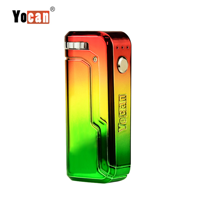 Yocan UNI Box Mod Universal Portable Vaporizer THC Oil Cartridges CBD Oil Cartridges Vape Pen Battery Yocan UNI 510-thread box battery offers ultimate protection and discretion for your oil cartridges Rasta