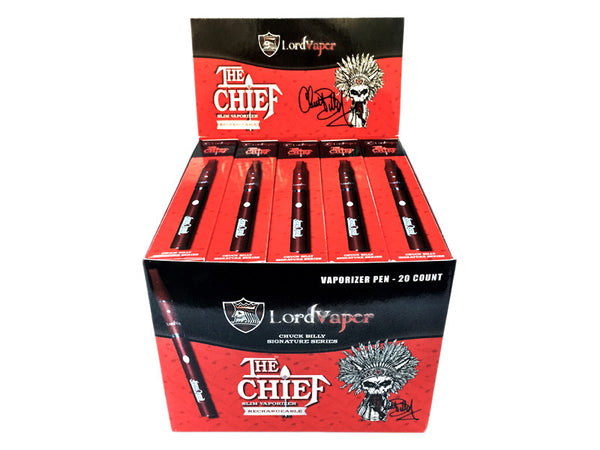 The Chief Slim 2-in-1 Vape Pen - Wholesale Pricing - 20 Pack with Retail Display Box