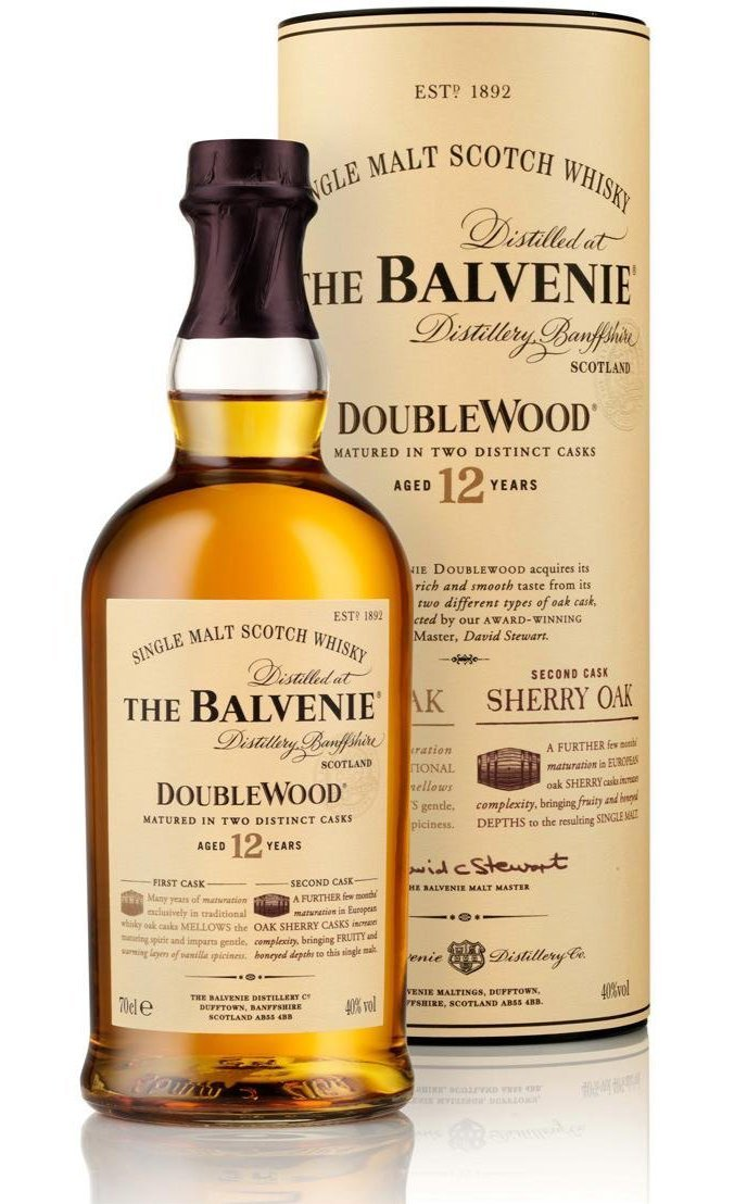 finespirits-The Balvenie Double Wood12 Jahre 40%  0,70l