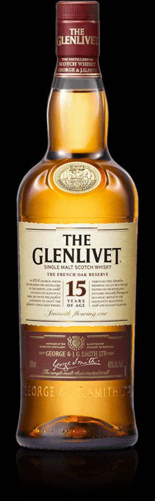 finespirits-The Glenlivet Whisky 15 Jahre 40% 0,70l
