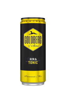 finespirits-Goldberg Gin&Tonic Dose 12x0,33l