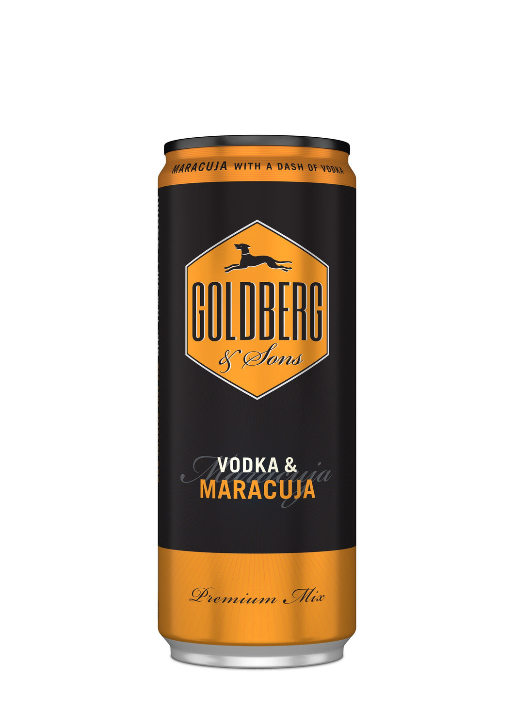 finespirits-Goldberg Vodka&Maracuja Dose 12x0,33l