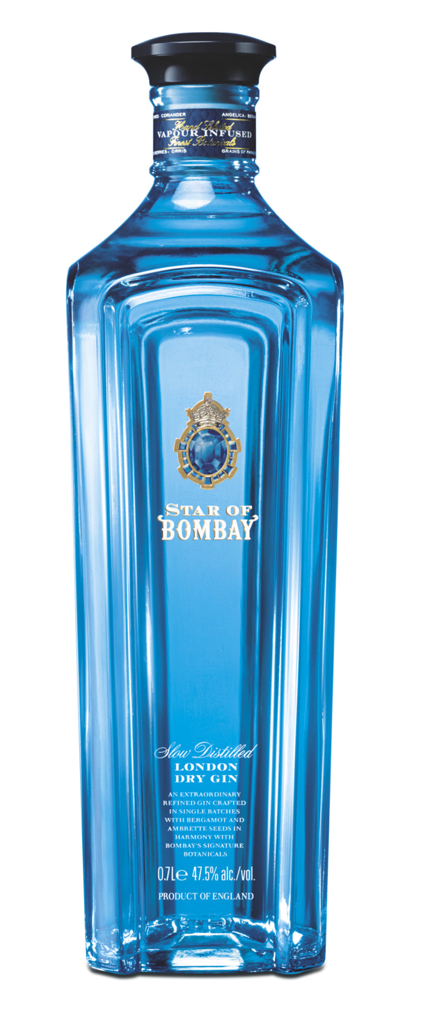 finespirits-Star of Bombay Gin 47,5% 0,70l