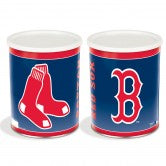 Load image into Gallery viewer, Boston Red Sox 1 gallon popcorn tin