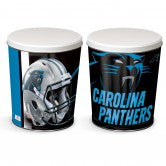 Carolina Panthers 3 gallon popcorn tin