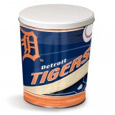 Load image into Gallery viewer, Detroit Tigers 3 gallon popcorn tin