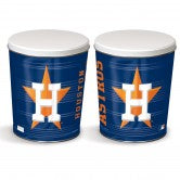Load image into Gallery viewer, Houston Astros 3 gallon popcorn tin